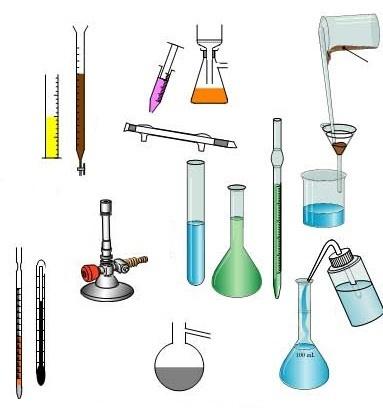 پاورپوینت آشنایی و طرز کار با وسایل آزمایشگاهی