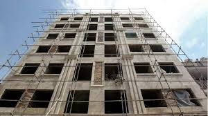 گزارش كارآموزي درباره همه مراحل ساختمان سازی هتل پارتیای گرگان