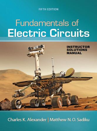 حل المسائل کتاب مدارهای الکتریکی متئو سادیکو و چارلز الکساندر ویرایش 5
