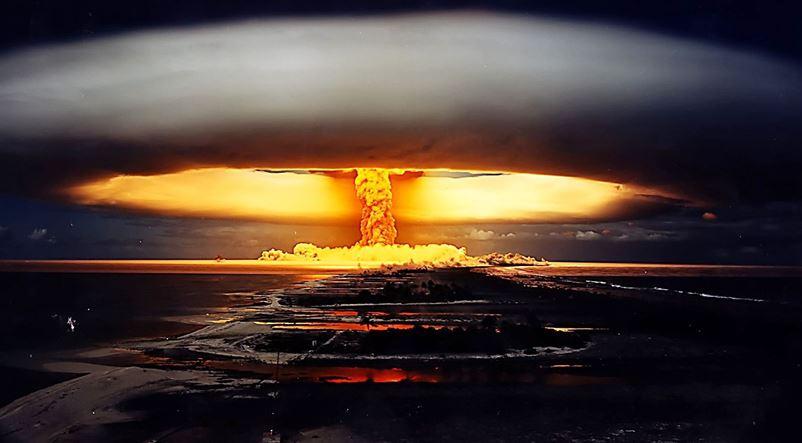 پاورپوینت در مورد بمب  هیدروژنی و ساز و کار آن(تحقیق دانش آموزی)