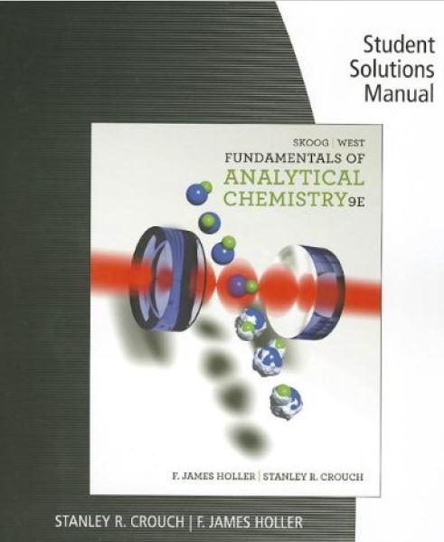 حل المسائل کتاب شیمی تجزیه اسکوگ،وست ویرایش نهم