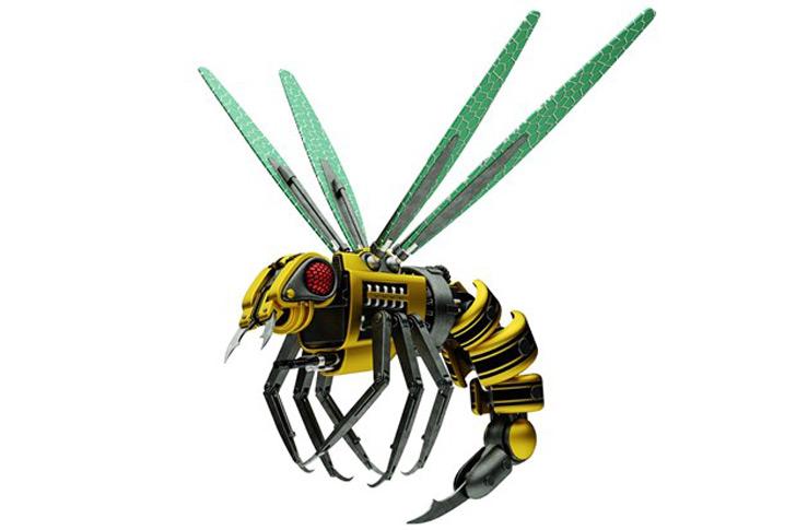 طراحی ربات زنبور در نرم افزار کتیا