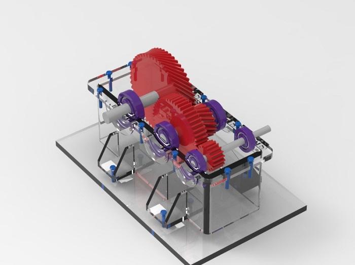 طراحی و شبیه سازی گیربکس در کتیا