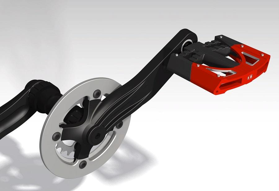 طراحی شبیه سازی رکاب (پازن) دوچرخه،  در نرم افزار کتیا