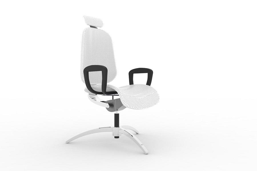 طراحی و شبیه سازی صندلی اداری قابل تنظیم، در نرم افزار سالیدورک