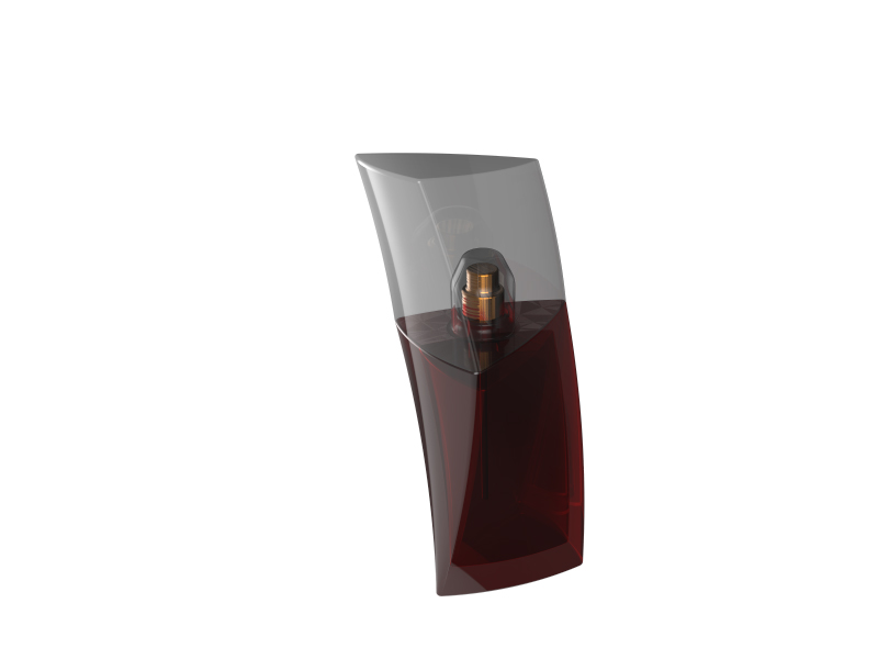 مدل آماده سه بعدی شیشه ادکلن، در نرم افزار کتیا