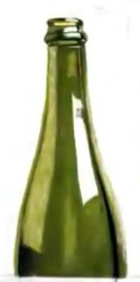 طراحی بطری شیشه ای با پاستل