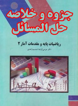 راهنما و حل المسائل کتاب ریاضیات پایه و مقدمات
