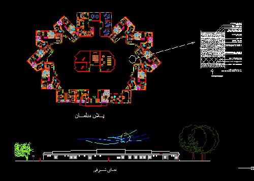 پروژه تحقیقاتی طراحی معماری خانه سالمندان در خوزستان