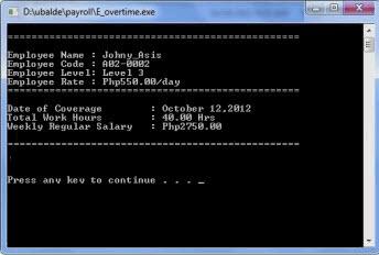 پروژه برنامه نویسی سیستم حقوق و دستمزد با ++C