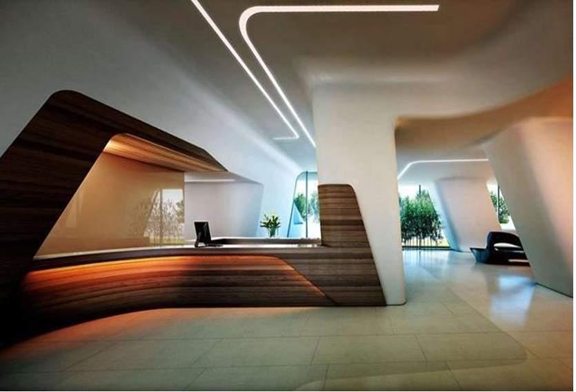 پاورپوینت بررسی فضا در معماری