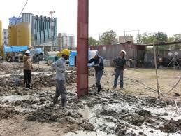 دانلود پاورپوینت اصلاح و بهسازی شیمیایی خاک بوسیله آهک