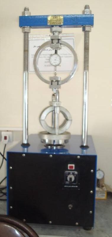 دانلود  پاورپوینت آزمایشگاه مصالح ساختمانی - آزمایش طرح مخلوط های آسفالتی (آزمایش مارشال)