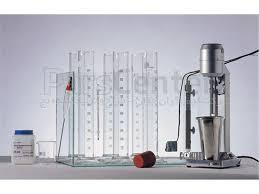 دانلود پاورپوینت آزمایشگاه مکانیک خاک  -  آزمایش: دانه بندی به روش هیدرومتری