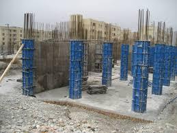 """دانلود جزوه  درسی  دانشگاهی """" اجرای ستون های بتنی  مستطیلی و شش ضلعی و دایره ای واجرای پله """"به صورت  pdf در27 صفحه مربوط به درس اجرای ساختمان های بتنی"""