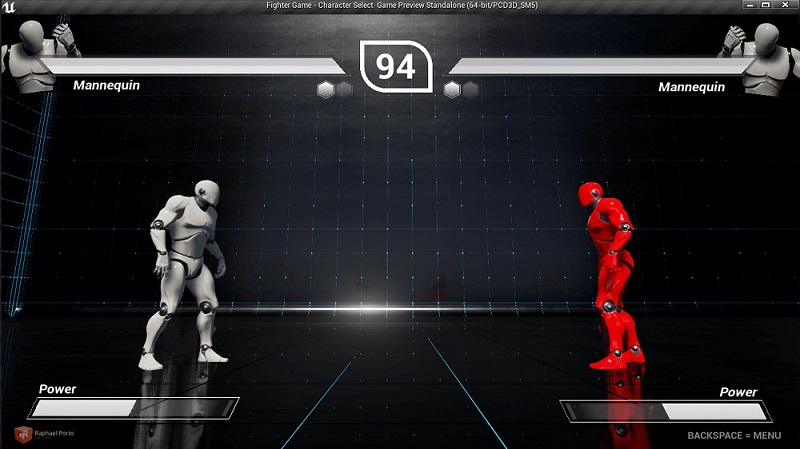 Unreal Engine Marketplace – Fight Game Select Character