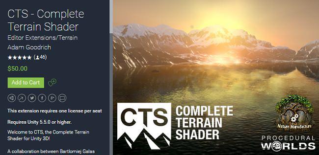 Unity Asset – Complete Terrain Shader v1.1.0