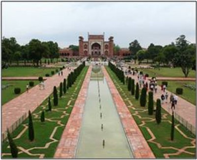 پاورپوینت بررسی باغ سازی اسلامی هند