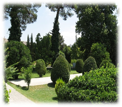 پاورپوینت فلسفه باغ های ایرانی