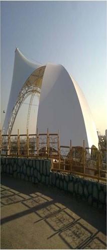 پاورپوینت سازه های چادری