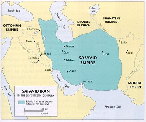 پاورپوینت کامل و جامع با عنوان تاریخ تمدن و حکومت صفویان در 98 اسلاید