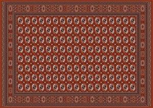 پاورپوینت کامل و جامع با عنوان قالی ترکمن و طرح ها و ویژگی های آن در 92 اسلاید