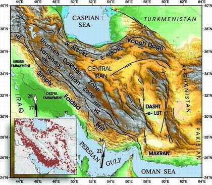 پاورپوینت کامل و جامع با عنوان زمین شناسی ایران در دوران سنوزوئیک در 72 اسلاید