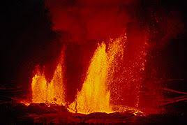 پاورپوینت با عنوان منشا مواد آتشفشانی در 20 اسلاید