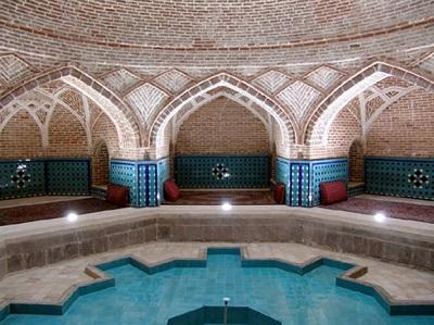 پاورپوینت کامل و جامع با عنوان معماری گرمابه (حمام) در 41 اسلاید