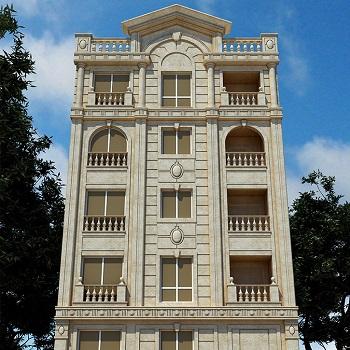 پاورپوینت کامل و جامع با عنوان انواع نماهای ساختمانی در 45 اسلاید