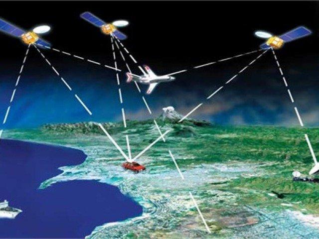 پاورپوینت کامل و جامع با عنوان آشنایی با سامانه موقعیت یاب جهانی یا GPS در 43 اسلاید