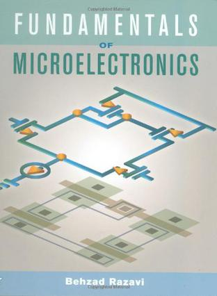 حل مسائل مبانی میکروالکترونیک بهزاد رضوی در 1115 صفحه به صورت PDF و به زبان انگلیسی