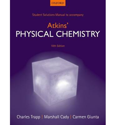 حل مسائل شیمی فیزیک اتکینز در 508 صفحه به صورت PDF و به زبان انگلیسی