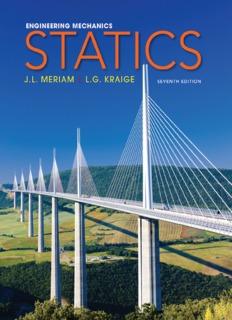 حل مسائل استاتیک مریام در 2192 صفحه به صورت PDF و به زبان انگلیسی