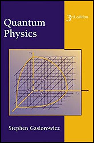 حل مسائل فیزیک کوانتوم گاسیوروویچ در 146 صفحه به صورت PDF و به زبان انگلیسی