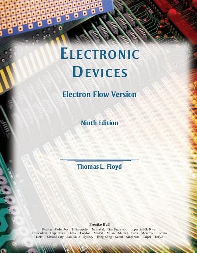 حل مسائل افزاره های الکترونیک توماس فلوید در 346 صفحه به صورت PDF و به زبان انگلیسی