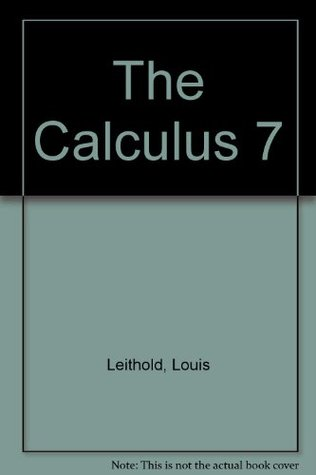حل مسائل کامل حساب دیفرانسیل و انتگرال لوئیس لیتهلد در 954 صفحه به صورت PDF و به زبان انگلیسی
