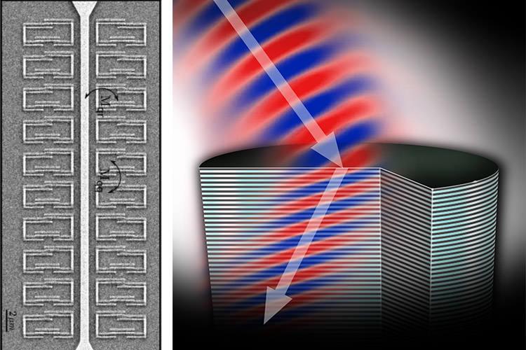 پاورپوینت کامل و جامع با عنوان متامتریال (Metamaterial) یا فراماده در 41 اسلاید