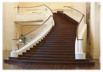 پاورپوینت کامل و جامع با عنوان انواع پلکان در ساختمان در 31 اسلاید