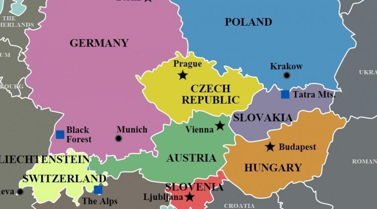 پاورپوینت کامل و جامع با عنوان بررسی اروپای مرکزی در 59 اسلاید