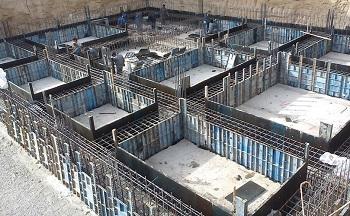 پاورپوینت کامل و جامع با عنوان نحوه اجرای پی (فونداسیون) در ساختمان در 57 اسلاید