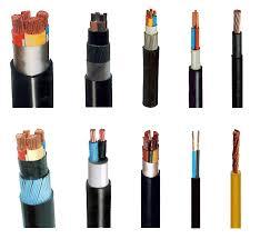 پاورپوینت کامل و جامع با عنوان انواع کابل ها و هادی های الکتریکی و محاسبه جریان مجاز و افت ولتاژ و سطح مقطع آن ها در 60 اسلاید