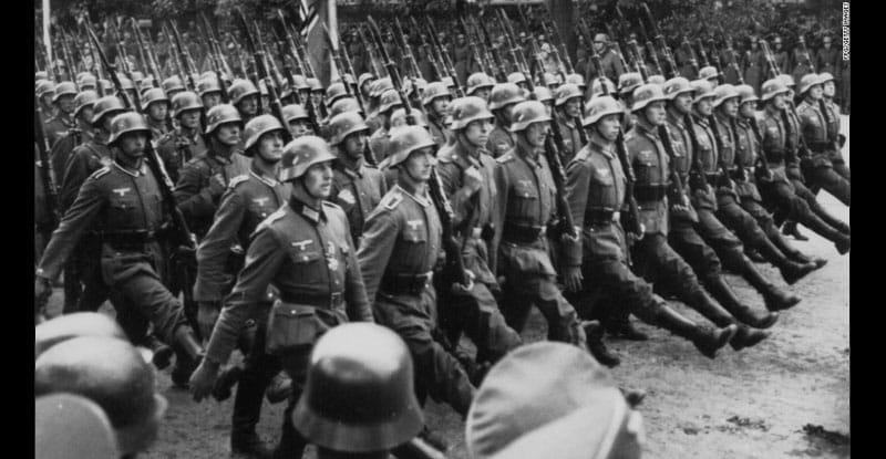 پاورپوینت کامل و جامع با عنوان تاریخ جنگ جهانی دوم در 130 اسلاید