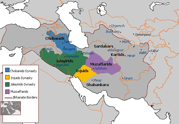 پاورپوینت کامل و جامع با عنوان تاریخ تمدن و حکومت آل جلایر و چوپانیان در 27 اسلاید
