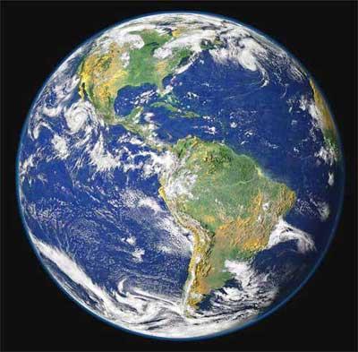 پاورپوینت کامل و جامع با عنوان بررسی کامل سیاره زمین در 128 اسلاید
