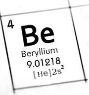 پاورپوینت کامل و جامع با عنوان بررسی کامل عنصر بریلیم در 19 اسلاید