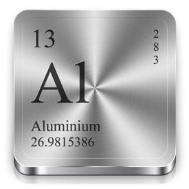 پاورپوینت کامل و جامع با عنوان بررسی کامل عنصر آلومینیم در 45 اسلاید