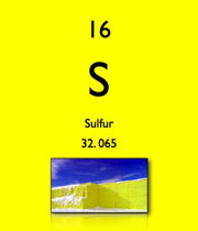 پاورپوینت کامل و جامع با عنوان بررسی کامل عنصر گوگرد (سولفور) در 58 اسلاید