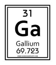 پاورپوینت کامل و جامع با عنوان بررسی کامل عنصر گالیم در 19 اسلاید