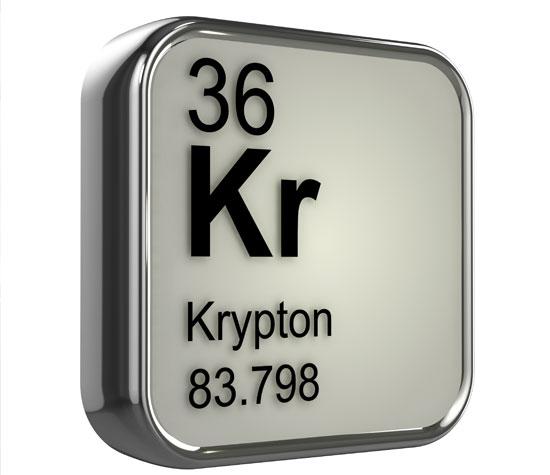 پاورپوینت کامل و جامع با عنوان بررسی کامل عنصر کریپتون در 21 اسلاید